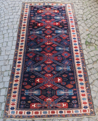 Caucassian Kuba Zehkur wonderful colors and excellent condition all original full pile size 2,80x1,42 cm (56''x110'') inches Circa 1900-1910 #antiquerugs #antiquecarpets #antiquekilims #decorative #decoration #homedecoration #vintage #largecollection #silk #hereke #rareitems #luxurylifestyle #luxury  ...