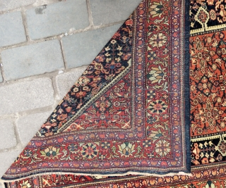 Persian Malayer rug very nice colors and good condition all original Circa 1880-1890