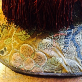 Yuan / Ming ( 14th Century ) hat. For a Tibetan official :