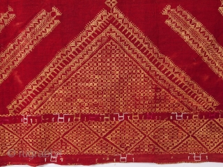 Indian Punjap Phulkari 170 x 280 cm / 5'6'' x 9'2''