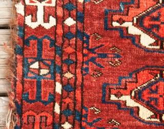 Turkmen Teke Chuval  81 x 100 cm / 2'7'' x 3'3''