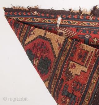 Caucasian Sumak Mafrash Panel 63 x 103 cm / 2'0'' x 3'4''