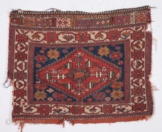 A pair of Afshar Sumak Bag Faces 55 x 71 cm / 1'9'' x 2'3''