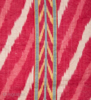 Central asian Uzbek Ikat Panel 160 x 216 cm / 5'2'' x 7'1''