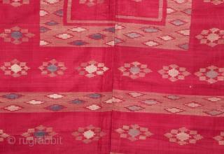 Syrian Silk Textile 172 x 176 cm / 5'7'' x 5'8''
