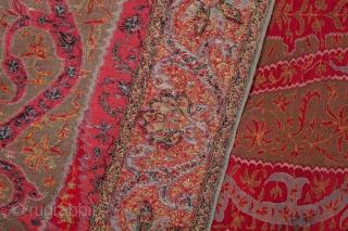 Kashmir Shawl 137 x 313 cm / 4'5'' x 10'3''