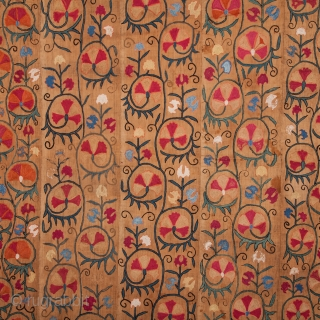 Central Asian Uzbek Suzani  141 x 236 cm / 4'7'' x 7'8''