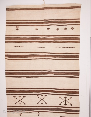 Haba, Central Anatolian Karapinar Kilim ( with a date that i could not translate ) 158 x 470 cm / 5'2'' x 15'5''