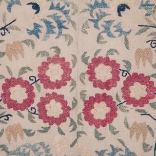 Ottoman Embroidery Fragment 108 x 134 cm / 3'6'' x 4'4''