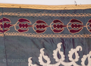 Early 20th C. Suzani from Uzbekistan Central Asia.
