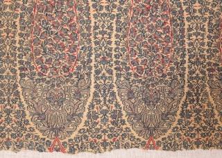 Kashmir Shawl Fragments  Each Frame is: 43 x 78 cm / 1'4'' x 2'6''