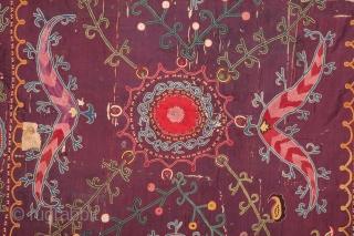 Shahrisabz Suzani 121 x 152 cm / 3'11'' x 4'11''
