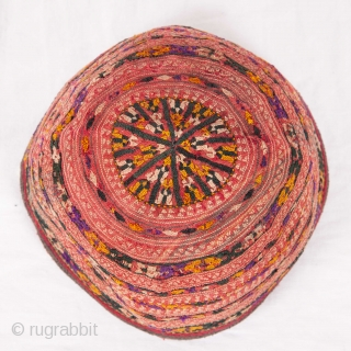 Turkmrn Tekke Baby Hats  Diameters between 10 to 14 cm /  4 to 6 inches