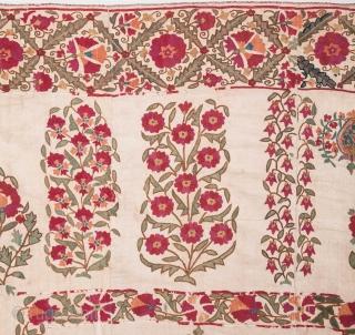 Uzbek Nurata Suzani 158 x 234 cm/ 5'2'' x 7'8''