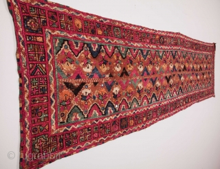 Fragment of a Sind Embroidery 43 x 156 cm / 1'4'' x 5'1''