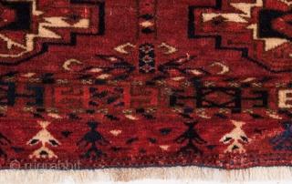 Small six gul Tekke torba 21 x 72 cm / 8.27 x 28.35 inches