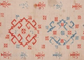 Greek Embroidery 64 x 113 cm / 2'1'' x 3'8''