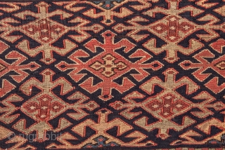 Shahsavan Sumak Mafrash Panel 21 x 90 cm / 8.27 x 35.43 inches