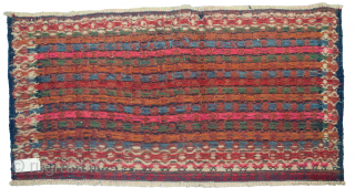 Large very fine antique Kelat bag face 19th Century 135x72cm in good condition