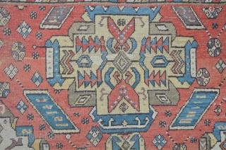 East Caucasian carpet, probably Derbent / Daghestan with kind of Alphan Kuba influenced design,19th c. 268 x 152 cm