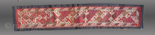 "Chodor Embroidery, Garment Fragment, Central Asia, late 1th/early 20th C., 1' 11.5"" x 3.5""