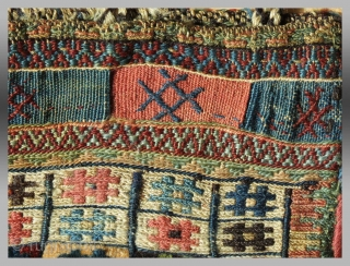 """Shahsevan """"mixed technique"""" Chanteh, NW Persia, 19th c.  Please inquire for further information"""