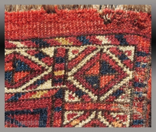 "Ersari(?) ""Chuval"" (storage bag), Central Asia (middle Amu Darya region), 19th C., 3'6"" x 2'7""