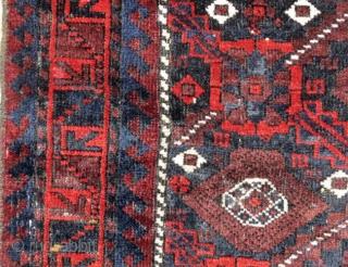 Baluch Bag Face, NE Perisa, late 19th C.,   $450