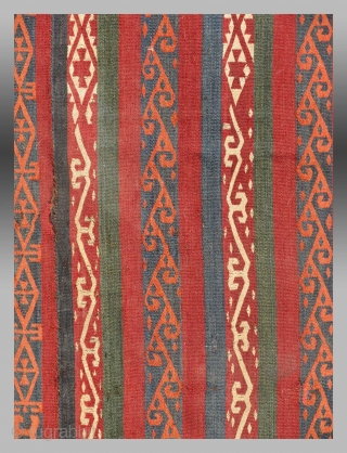 "Uzbek Flat Woven ""Bokche"", Central Asia, 19th C.
