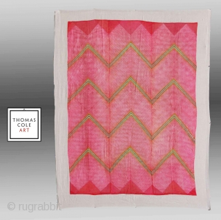 Tie Dye Textile, W. India (Rajasthan), circa 1920  Please inquire for further images/information