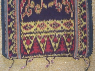 Antique traditional Ikat cotton, indonesia , no: 171, size: 165*45cm.