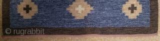 Antique Swedish kilim, no: 331, size: 158*52cm, wall hangings.