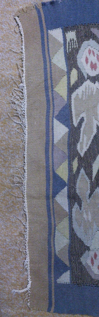 Antique Norwegian Kilim, no: 343, size: 73*55cm, the tapestry very beautiful, wall hangings.