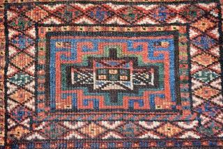 19th Century Kurdish bag, size is 53 x 53 cm