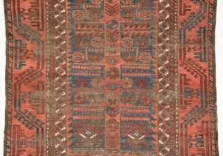 Exceptional Baluch End 19th century, size is 186 x 118 cm