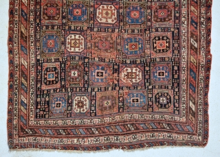 Rare Dated Afshar, good pile, secured the places.