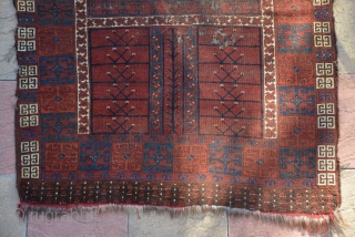 Beautiful 19th century Ersari Engsi