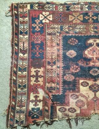 Very old Kurdish carpet size 155x110cm