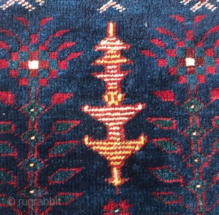 South Anatolian Carpet 19. Century  Size 105x82cm