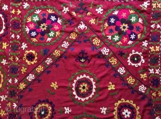 Uzbekistan Suzani size 205x135cm