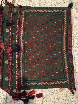Rare Qhasgai sadllebag size 73x55cm size 74x54cm