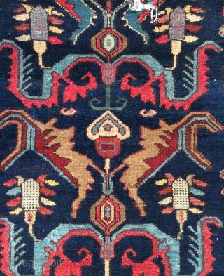 Persian Gazvin talaghan Carpet size 210x150cm