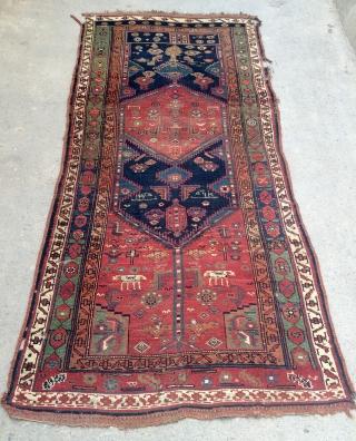 Persian Kurdish Carpet size 254x117cm