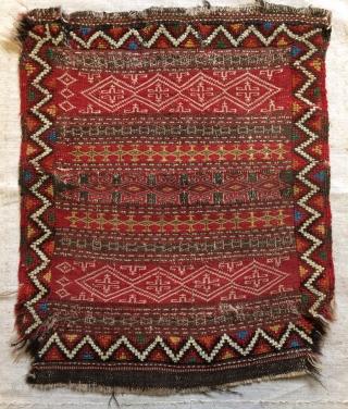 Khochan saddle bag face 60x55cm
