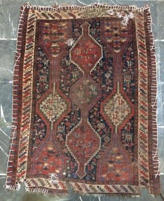 Shiraz small carpet size 130x100cm