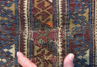 Shirvan rug size 195x110cm