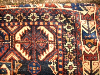 Old big khamse.complete. Size: 69 x 140. Full pile. Perfect colors.