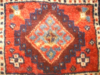 Old anatolian Yastik. Size: 50 x 87 cm. Full pile. Nice colors. Complete.