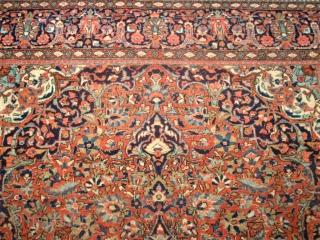 Antik persian Keshan. Size: 200 x 133 cm.
