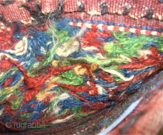 Kordi Quchan flatwave saltbag. Size: 31 x 44 cm. Top condition.